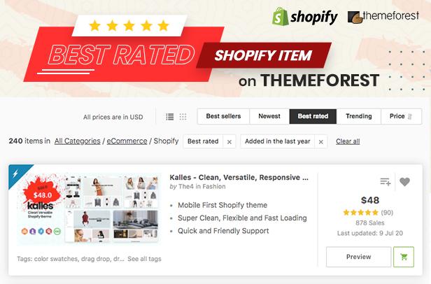 Kalles - Clean, Versatile, Responsive Shopify Theme - 2